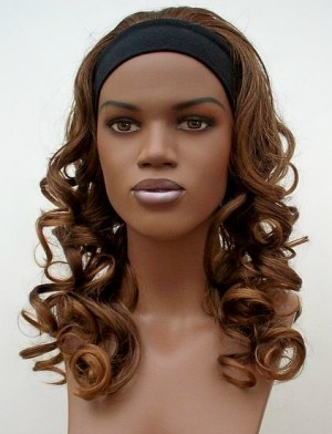 curly headband wig