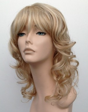 mid length blonde wig timeless chic