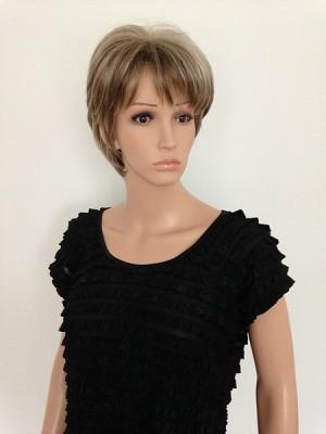 ladies modern short wig Carmel