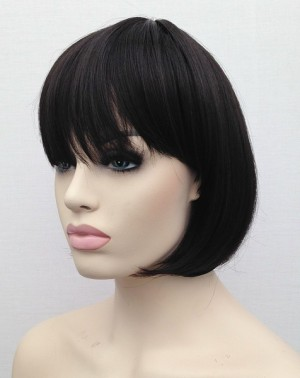 Brunette bob wig Claire