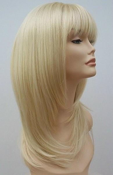 Long Blonde wig Jo 1