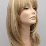 Mid Length Blonde Wig Amber (4)