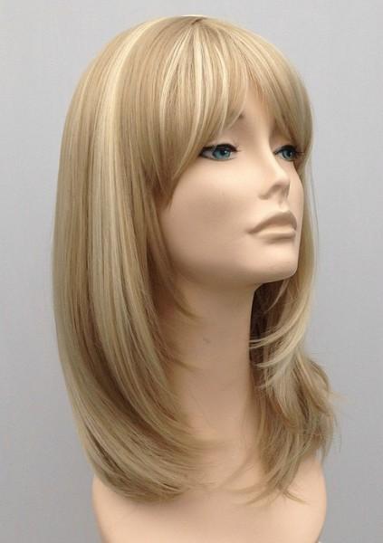 Mid Length Blonde Wig Amber (4)