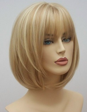 Mid Length Blonde wig Angel (2)