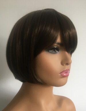 Brown bob wig Bailey