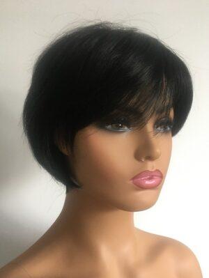 Shona black bob wig
