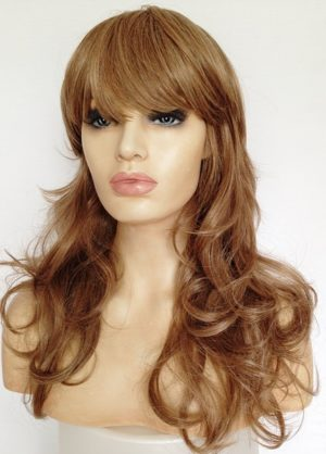 ladies long wig