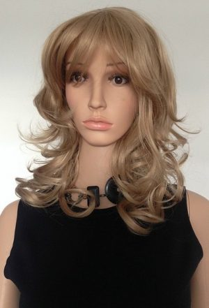 ladies blonde wig