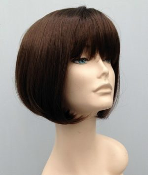 chocolate brown bob wig