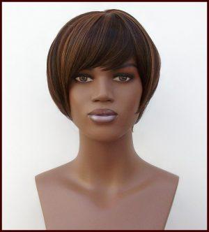 cropped bob ladies wig