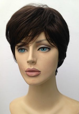 Brown ladies short wig Caroline