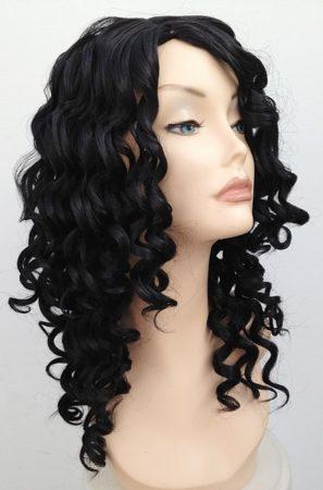 spiral curl wig