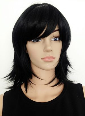 black wig Anthea