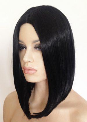 Maya black bob wig