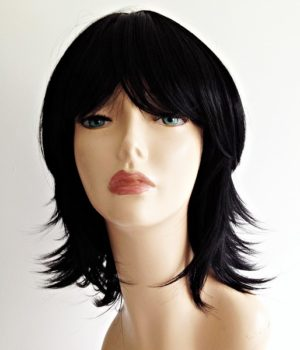 Anthea black wig