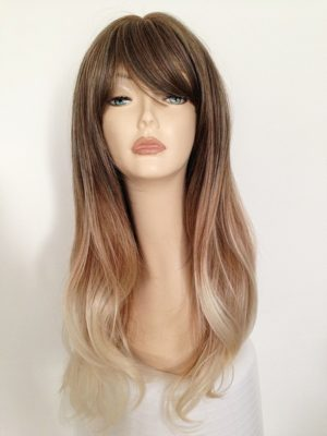 ombre style long wig