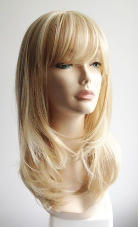 Cindy long blonde wig
