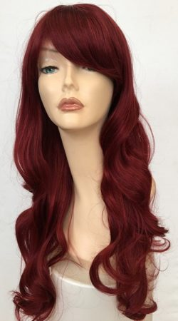 long red wig saffron