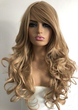 Megan blonde wig