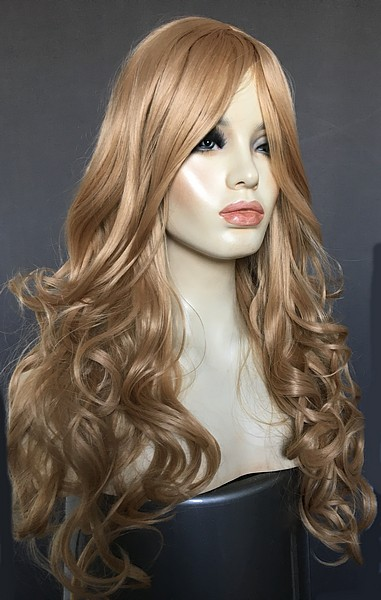 Blonde Long Curly Wig Freya Only 163 35