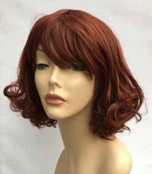 Copper red wig Imogen