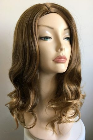 brown wavy wig Lauren