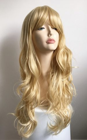 Long blonde wig Savannah