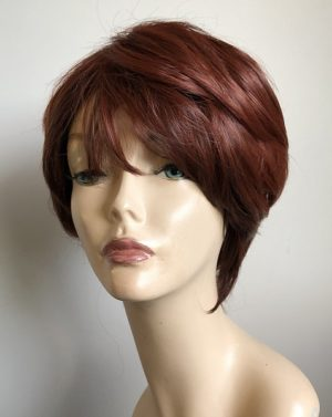 red short wig Hailey