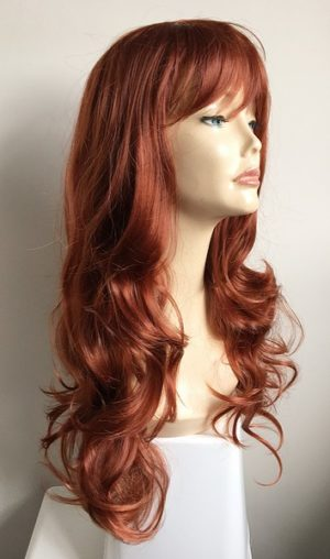 Copper red wig Savannah