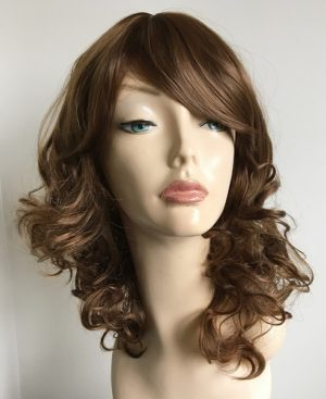 Simone brown wig