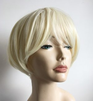 Bleach blonde wig Vicky