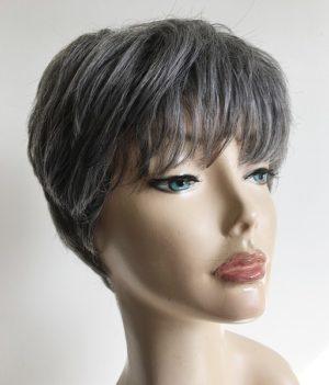 Eve grey wig